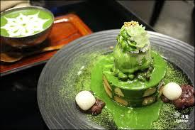 cuisine mont馥 桃園美食 淺藍 上咖啡 抹茶控必訪 抹茶瀑布流洩的宇治園抹茶熱蛋糕