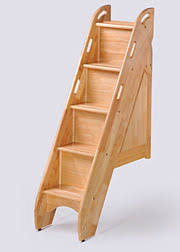 Night & Day Furniture Bunk Bed Stairs