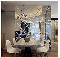 diamanten dreiecke wand kunst acryl spiegel wandaufkleber haus dekoration 3d diy wandtattoos kunst für wohnzimmer wohnkultur l ayzr