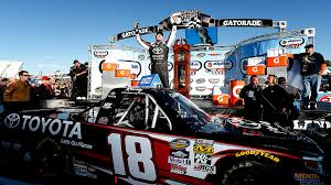 100 Win Truck Kyle Busch Breaks Martinsville Drought With Truck Race Win NASCAR