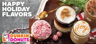 Dunkin Donuts Pumpkin Latte Ingredients by Kcmetromoms Com Happier Holidays With Dunkin U0027 Donuts New Lineup