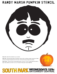Pumpkin Faces To Carve by The Official South Park U2022 Use This Stencil To Carve Your