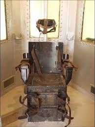 la chaise electrique modes d exécution des condamnés à mort meurtres en tout genre