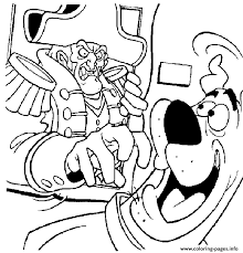 Scooby And Ghost Pirate Doo 4c0d Coloring Pages