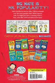 Big Nate Dibs On This Chair Paperback by Big Nate Mr Popularity Big Nate Comix Lincoln Peirce