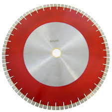 Husky Wet Tile Saw Blade by Archer Usa 24 In Bridge Saw Blade With V Shaped Segment For