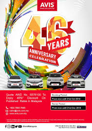 100 Avis Truck Rental One Way MotoringMalaysia Malaysia Celebrates 46 Th Anniversary By 46
