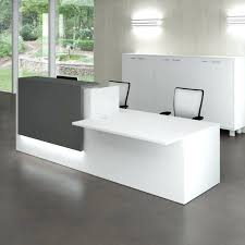 Small Reception Desk Medium Size Of Office Computer Wood Industrial Black