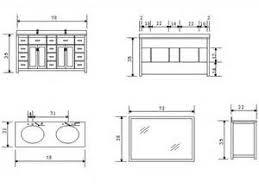 Ada Bathroom Counter Depth by Bathroom Vanity Height Bathroom Vanities Dimensions Standard