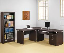 Coaster Contemporary Computer Desk by Home Design Interesting L Shaped Desk Amazon Within 81 Awesome