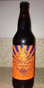 Harvest Moon Pumpkin Ale by Pike Harlot U0027s Harvest Pumpkin Ale The Pike Brewing Company