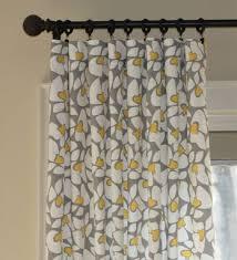 Waverly Fabric Curtain Panels by Hand Made Custom Curtain Panels Waverly Small Talk Bird Print