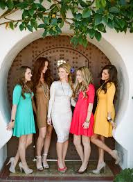 Chic Colorful Classy Bridal Shower Ideas By Twine Events