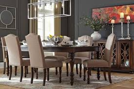 Baxenburg Table W 6 Chairs