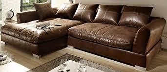 reboz big sofa ecksofa vintage braun schwarz ausrichtungen vintage hellbraun links