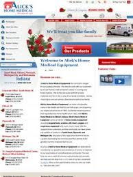 HME website for BK Home Medical by VGM Forbin