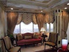 Valances On Bottom And Then Curtains W Tie Backs Living Room Drapes Dining