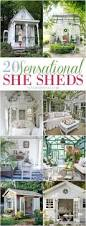 Backyard Sheds Jacksonville Fl by She Shed Backyard Makeover Need A Space To Call Your Own