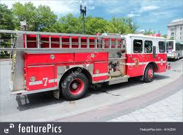 Transportation: Fire Truck In The USA - Stock Image I4142534 At ...