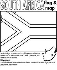 Flag Country Coloring Pages