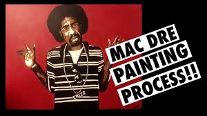 Mac Dre Mural Sf by Mac Dre Painting Bay Area Appreciation Gift Youtube