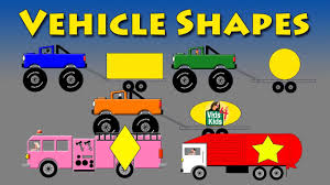 100 Garbage Truck Youtube Kids Vehicle Shapes Monster Fire Motorcycle