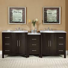 Ebay Bathroom Vanity Tops by Accord 89 Inch Contemporary Double Sink Bathroom Vanity Set