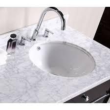 kohler verticyl sink oval undermount bathroom sink undermount bathroom sink getting an with