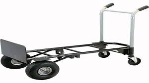 Harper Trucks 700 Lb Capacity Super Steel Convertible Hand Truck ...