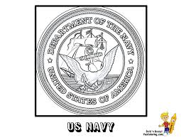 US Navy Seal Coloring Page