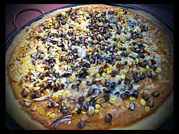 Pasadena Pumpkin Patch Nl by Red Or Green Pizza With Red Chile Pumpkin Sauce Black Beans