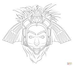 Click The Native American Eagle Mask Coloring Pages To View Printable