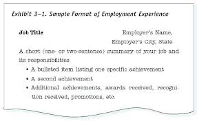 Sample Of Resume Spectacular Titles Examples