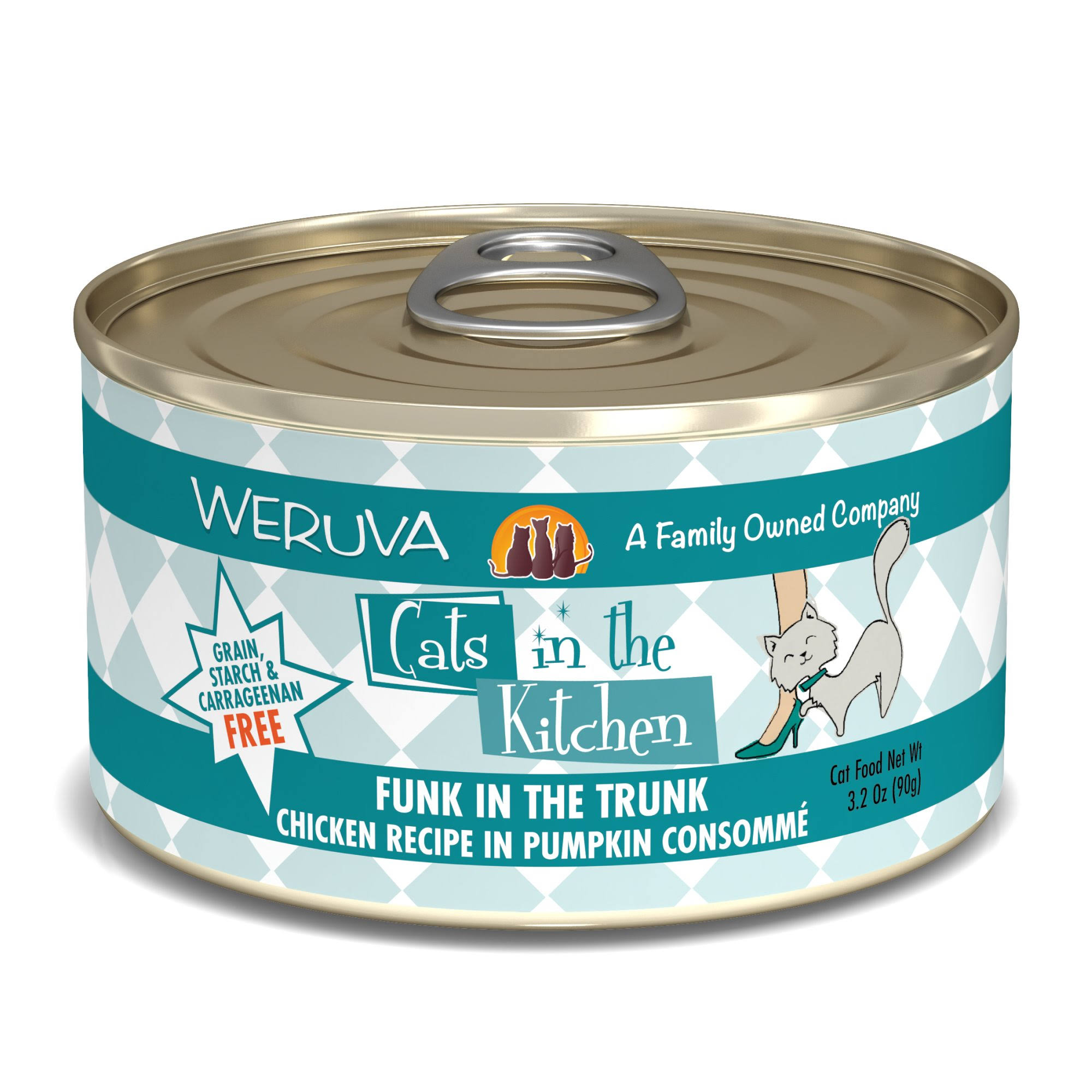 Weruva Cats in The Kitchen Funk in The Trunk - 3.2 oz.