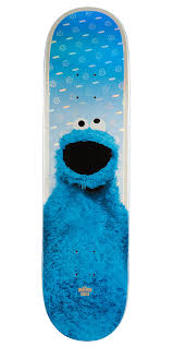 100 Ccs Decks Globe G2 Sesame Street Skateboard Deck Cookie Monster 8125