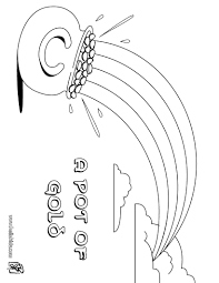 Lucky Horseshoe Coloring Pages In Page