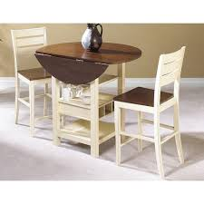Very Small Kitchen Table Ideas by Sunset Trading Cascade 3 Piece Cream U0026 Espresso Pub Table Set