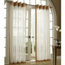 White Grommet Curtains Target by Soho Tailored Sheer Grommet Curtain Panels