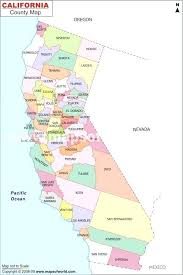 Gallery For Gt Map Counties California State County Lines
