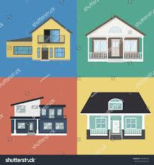 Colorful Home Exterior Design Collection Flat Stock Vector ... 40 Best Curb Appeal Ideas Home Exterior Design Tips Outside This Entrancing Designs Impressive Decor D Designing Gallery Of Art Marvelous Homes H29 For Your Interior 45 House Exteriors Paint Colors To Sell 2016 In Blue Navy Houses Extraordinary Modern Ideas 2017 New Latest Fresh Elevation Samples 11835 Amazingsforsnewkeralaonhomedesign And 28 Images Ultra Mansard Roof Different Ganecovillage