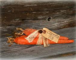 Primitive Easter Home Decor by Carrot Decor Etsy