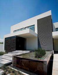 Modern Neutral Black And White Home Design Ideas Feature Striped ... Home Entrance Steps Design And Landscaping Emejing For Photos Interior Ideas Outdoor Front Gate Designs Houses Stone Doors Trendy Door Idea Great Looks Best Modern House D90ab 8113 Download Stairs Garden Patio Concrete Nice Simple Exterior Decoration By Step Collection Porch Designer Online Image Libraries Water Feature Imposing Contemporary In House Entrance Steps Design For Shake Homes Copyright 2010