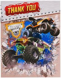 Natty Monster Jam 3D Thank-You Notes. Huge Range Cartoon & Animated ... Monster Truck 3d Puzzle Dxf Plan Etsy Jam Empty Favor Box 4 Count Tvs Toy Throwing A 3d Parking Simulator Game App Mobile Apps Tufnc Printed Monster Truck By Mattbag Pinshape Grave Digger Illusion Desk Lamp Azbetter Drive Hill 1mobilecom Truck Model Download For Free 3 D Image Isolated On Stock Illustration 558688342 Pontiac Cgtrader Art Wall Sticker Room Office Nursery Decor Decal Inspirational Invitations Pics Of Invitation Style