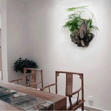 einrichtungs wohnzimmer wand dekoration wand topf