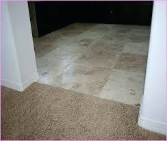 carpet transition molding carpet to tile transition idea