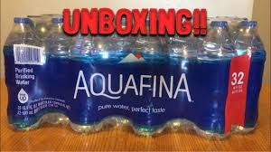 Unboxing Aquafina Water Case Of 32