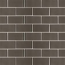 subway tile metallic gray subway tile 3x6