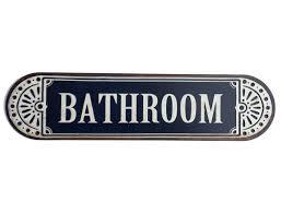 schilder tafeln bathroom blechschild badezimmer schild im