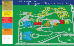 Springfield Masonic munity and Ohio Masonic Home Campus Map
