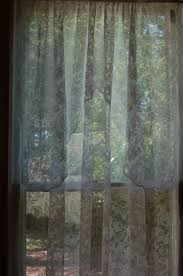 Lace Priscilla Curtains With Attached Valance by Panels Cape May Linen